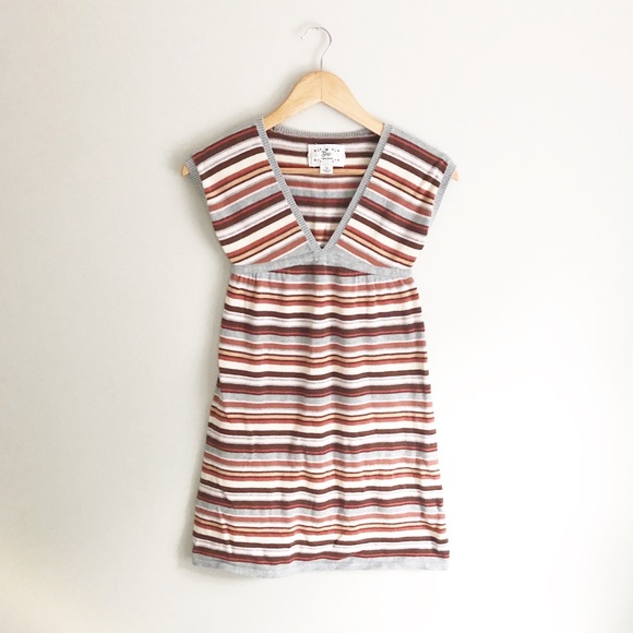 GAP Knit Striped Girls Dress